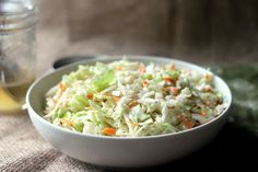 Classic Country Cole Slaw is a very tangy, very sweet vinegar based coleslaw…