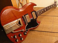 '63 Gibson SG, central command called and you've been reassigned to my arms.