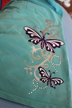 Keeping it Simple: Butterfly shirt