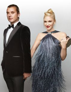 Gwen Stefani and Gavin Rossdale on our January 2014 cover!