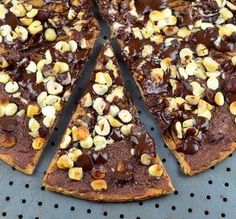 "Chocolate Pizza: ""This was a huge hit with the family. I can see myself throwing on whatever is lonely in the baking cabinet in the future."" -Kitchen Witch Steph"
