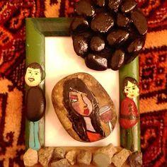 عکس از مشتری خوبمون  مرسی از اعتمادتون  #سنگ_نگاری #دنیا_پویان_مهر #فامیک #رشت #famyk