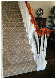 Taza Carpet From Tuftex Carpets Of California On The Stairs.