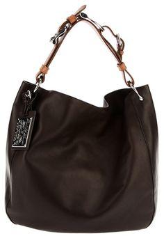 Ralph Lauren Brown Bohemian Equestrian Hobo Bag Purse Got It Bags