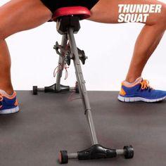 Thunder-en-cuclillas-Maquina-De-Ejercicios-Unisex-Piernas-Pantorrilla-Trasero-Muscular-Ejercitador