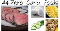 The Best 44 Zero Carb Foods And Tips How to Follow This Diet