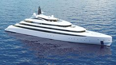 Monaco Yacht Designer A Group Presents Sleek and Spacious 360-Foot #Superyacht #Acuore