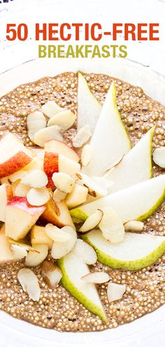 Check out these 50 quick and healthy breakfast options for moms on the go! Pin now, check later.