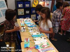 """""""Meet Me at the Mall"""" . A fun way to learn about economics in a first grade classroom! (Planning in Paradise) First Grade Classroom, First Grade Math, Second Grade, Teaching Social Studies, Student Teaching, Teaching Ideas, Kindergarten Activities, Classroom Activities, Classroom Ideas"""