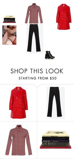 """""""red to redemption"""" by thisisnotmyname ❤ liked on Polyvore featuring Miu Miu, Zara and Edith A. Miller"""