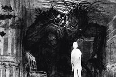 a monster calls Jim Kay the monster