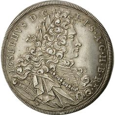 ➽ Ask us to find it for you : Coin Austria Joseph I Thaler 1705 Munich Silver Gold And Silver Coins, Pirate Treasure, Stamp Collecting, Munich, Seals, Vienna, Baroque, Austria, Character Art