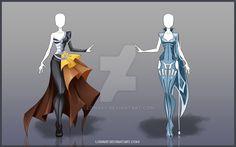 [Open] Design adopt_34-35 by Lonary.deviantart.com on @DeviantArt