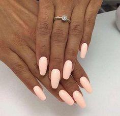 Pin by Lisa Firle on Nageldesign - Nail Art - Nagellack - Nail Polish - Nailart - Nails in 2020 Peach Acrylic Nails, Teal Nails, Ombre Nail, Pink Manicure, Pastel Nails, Light Colored Nails, Light Pink Nails, Peach Colored Nails, Colorful Nail Designs