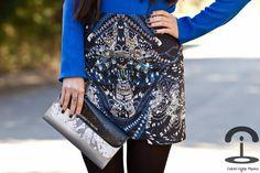 Kaleidoscope Skirt    www.romwe.com/