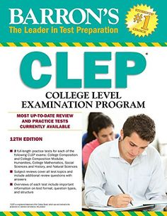 37 best exam prep guides images on pinterest number for dummies the clep or college level examination program is a college entrance test battery given to adults who return to the classroom after an absence of several fandeluxe Choice Image