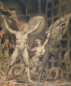 Satan, Sin, and Death ~ by William Blake…