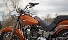 2014 Harley-Davidson® Softail® Fat Boy®Motorcycles Photos & Videos