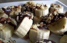 Frozen Chocolate Bananas