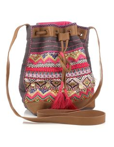 Mexican Embroidered Duffle - Accesorize