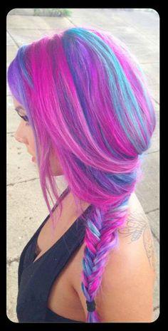 Vivid. Artistic Hair Design Photography- Natalie Zepp Hair- Rebecca Taylor Hair assistant- Keith Landgraff Make-up- Kat OConnor Model- Tiffany Miller