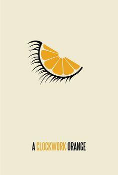 Alternative Movie Poster for A Clockwork Orange by brickhut