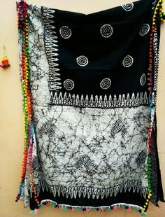 Malmal cotton Saree with pompom lace available.For order or price details WhatsApp @09164892160