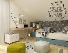 interior design ~ two-storey apartment in Krakow with mezzanine Krakow, Behance, Interior Design, Home Decor, Mezzanine, Nest Design, Decoration Home, Home Interior Design, Room Decor
