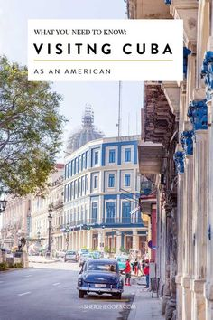 Everything you need to know for planning your trip to Cuba, including how to get an American visa for Cuba, current flights to Cuba, where to stay (hotel vs airbnb vs casa particular) and more! #ad Click through to read