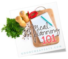 Meal Planning 101: Create a formula for the week's meal plan