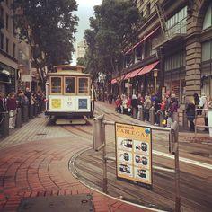 #sanfrancisco #cablecar by joonsikpark