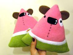 Wally the Watermelon Dogs by casscc.deviantart.com on @deviantART