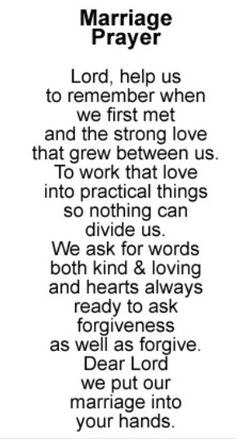 Marriage Prayer- Love this- love the words! Great Quotes, Quotes To Live By, Me Quotes, Inspirational Quotes, Advice Quotes, Funny Quotes, Qoutes, Friend Quotes, Crush Quotes