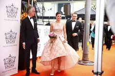 royaltyspeaking:   Swedish Royals attend Polar Prizes (music award), August 26, 2014-Crown Princess Victoria and Prince Daniel