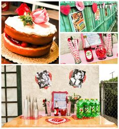 Shirley Temple 1st Birthday Party with Such Cute Ideas via Kara's Party Ideas KarasPartyIdeas.com #shirleytemple #firstbirthday #vintagepart...