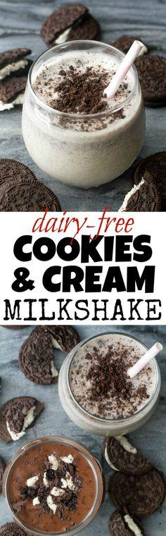 Dairy-Free Cookies &