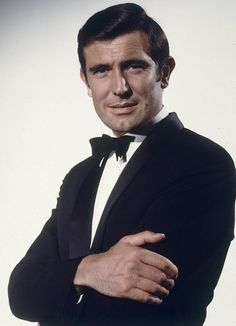 """George Lazenby - the second actor to play James Bond in the """"official"""" Eon Productions Bond series. An Australian model with no acting experience, who did an admirable job, but was a one time Bond. His agent wrongly influenced him into dropping out of the gig stating that the Bond series was finished."""