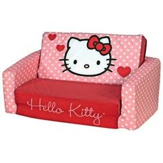 Hello Kitty Kids Sleeper Sofa - Listing price: $149.99 Now: $99.99