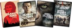 Planet of The Apes 8-Film Bundle