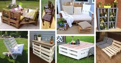 Outdoor pallet furniture ideas help you make your backyard into an outdoor living area that you can enjoy with your family. Find the best designs for 2018!