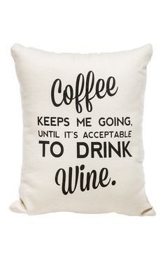 Coffee Pillow