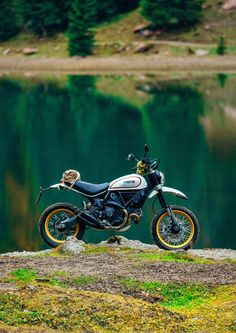Ducati Desert Sled. These things love to wheelie!