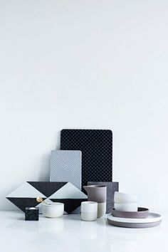 Stone cold tableware #dining #stoneware #nordic #living