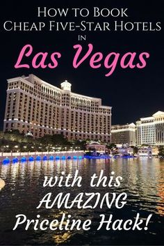 to Book Cheap Five Star Hotels in Las Vegas Priceline Hack. it works every single time!How to Book Cheap Five Star Hotels in Las Vegas Priceline Hack. it works every single time! Las Vegas Vacation, Visit Las Vegas, Las Vegas Nevada, Cheap Vegas Trip, Best Las Vegas Hotels, Hotels In Vegas Strip, Cheap Trips, Las Vegas Suites, Vegas Fun