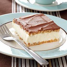 Thelma's Chocolate Eclair No Bake Summer Desserts, 13 Desserts, Potluck Desserts, Frozen Desserts, Delicious Desserts, Icebox Desserts, French Desserts, Plated Desserts, Baking Desserts