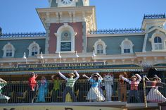 """Being at the Magic Kingdom for """"Rope Drop"""""""