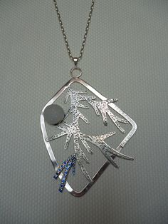 Design by Mükerrem Odabaşı-(Pendant)              Sterling silver;hand cut,soldered