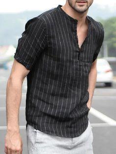 Mens Smart Casual Outfits, Formal Men Outfit, Stylish Shirts, Casual Shirts, Gents Kurta Design, Boys Kurta Design, Indian Men Fashion, Mens Fashion Wear, India Fashion Men