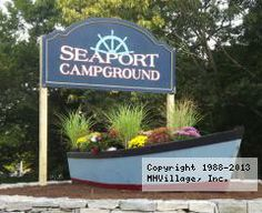 Seaport RV Resort in Old Mystic, CT