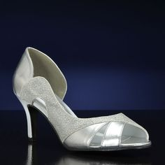 CHARLI-4045 Wide by Touch Ups Wedding and Bridesmaids Shoes